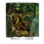 A Life Of Meditation Shower Curtain