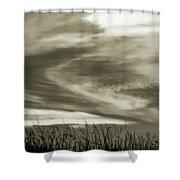 A Light Embrace Shower Curtain