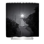 A Light In A Dark Place Shower Curtain