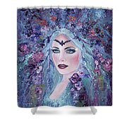 A Light In The Darkness Shower Curtain