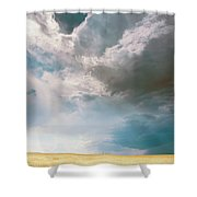 A Light In The Storm Shower Curtain
