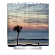 Daytona Beach Sunrise Shower Curtain