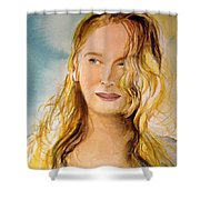 A Little Bit Of Meryl Shower Curtain