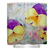 A Little Bit Of Springtime Shower Curtain