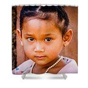 A Little Khmer Beauty Shower Curtain