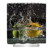 A Little Less Tonic Shower Curtain