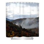 A Little Smoky Shower Curtain
