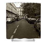 A London Street II Shower Curtain