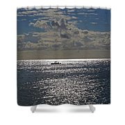 The Sea And Me Shower Curtain