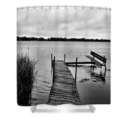 A Long Day's Journey Shower Curtain