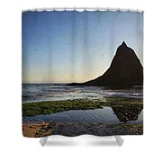 A Long Lonely Time Shower Curtain