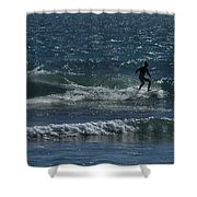 A Long Ride Shower Curtain