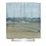 A Long Walk Back Home Shower Curtain