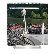 A Lot Of Bikes Shower Curtain