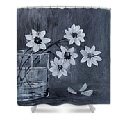 A Lovely Bouquet Of Daisies Shower Curtain