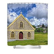 A Lovely Jamaican Church Shower Curtain