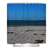 A Lovely Point Of View Shower Curtain