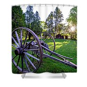 A Mabry Morning Shower Curtain