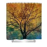 A Magnificent Tree Shower Curtain