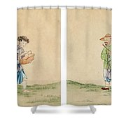 A Man And A Woman Shower Curtain