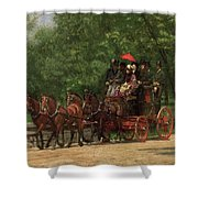 A May Morning In The Park Shower Curtain