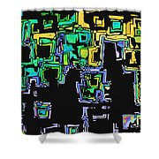A Maze Thing - 01ac05 Shower Curtain