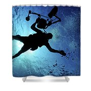A Member Of The Combat Camera Shower Curtain