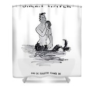 A Merman Shower Curtain