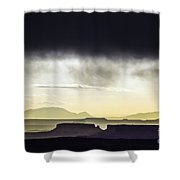 A Mess Of Mesas Shower Curtain