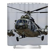 A Mil Mi-17 Helicopter Of The Czech Air Shower Curtain