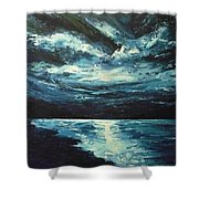 A Milky Way Shower Curtain