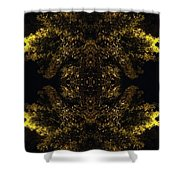 A Moment Bristling Shower Curtain