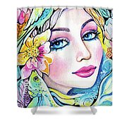 A Moment For Dreaming Shower Curtain