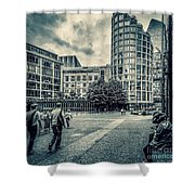 A Moment In Southwark, London. Shower Curtain