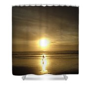 A Moment In The Sun Shower Curtain