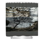 A Moment Of Harmony  Shower Curtain