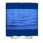 A Moment Of Tranquility In The  Atlantic Ocean Shower Curtain