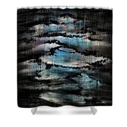 A Moonlit Night Shower Curtain
