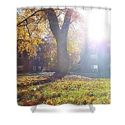 A Morning In Fall Shower Curtain