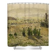 A Morning Mood Shower Curtain