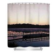 A Morning Never Forgotten  Shower Curtain