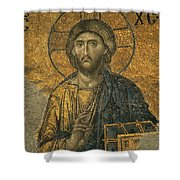 A Mosaic Of Jesus The Christ At St Shower Curtain