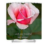 A Mother Is Like A Flower Shower Curtain