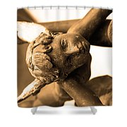 A Mother's Angel Shower Curtain