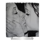 A Mothers Love Shower Curtain by Carla Carson