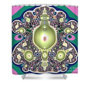 A Mothers Womb Gods Garden Of Life Shower Curtain