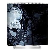 A Musician's Bently Shower Curtain