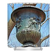 A Navy Yard Urn In Lafayette Square -- West Shower Curtain