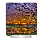 A New Day Dawns Shower Curtain