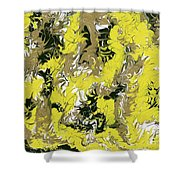 A New Day - V1ll100 Shower Curtain